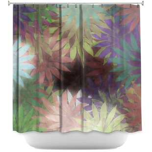 Forest Flowers 1 Single Shower Curtain