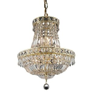 House of Hampton Fulham 6-Light Empire Chandelier