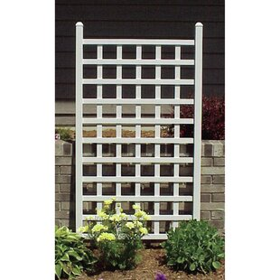 Dura-Trel Country Garden Vinyl Lattice Panel Trellis