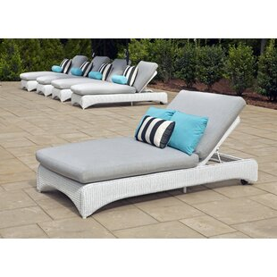 Lloyd Flanders Loom Double Chaise Lounge