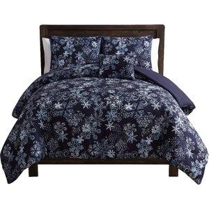 Scroll Snowflake Comforter Set