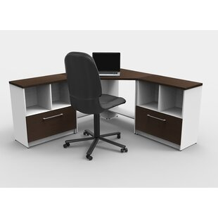 Loxley 8 Piece U-Shape Desk Office Suite by Latitude Run Herry Up