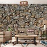 Chicopee 8 Piece Stone Wall Mural