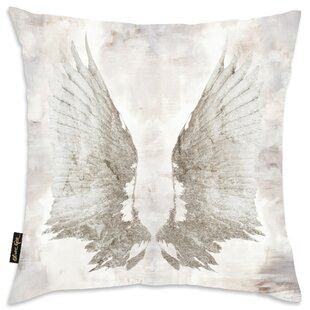 Oakwood My Wings Chie Velvet Throw Pillow