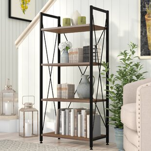 Wadley Etagere Bookcase by Three Posts
