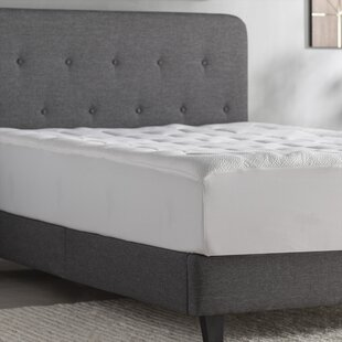 Best Polyester Memory Foam Mattress Pad By Alwyn Home