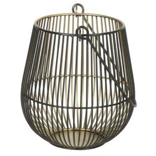 Iron Wire Two-Tone Metal Lantern
