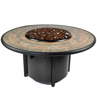 Venice II Aluminum Propane Fire Pit Table