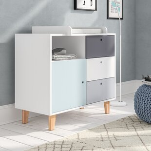 Kalyn 3 Drawer Chest By Harriet Bee