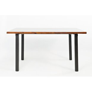 Millwood Pines Jeffery Wooden Dining Table