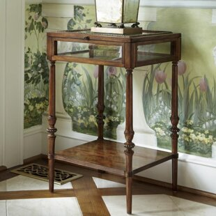 Biltmore Curio End Table with Storage