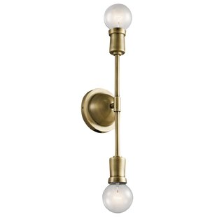 Armstrong 2-Light Armed Sconce by Kichler