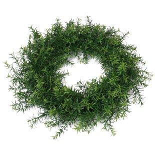 45cm Artificial Wreath (Set Of 2) By The Seasonal Aisle