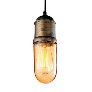 Williston Forge Adah 1-Light Bulb Pendant