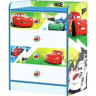 Cars 4 Drawer Chest by Zoomie Kids