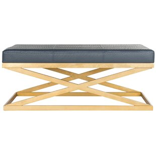 Ostrich Faux Leather Bench By Willa Arlo Interiors