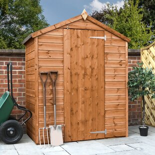 5 Ft. W X 3 Ft. W Solid Wood Garden Shed By WFX Utility