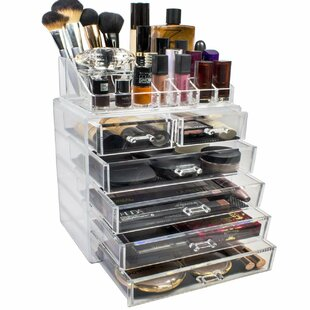 Makeup and Jewelry Cosmetic Organizer ByRebrilliant