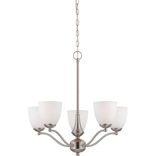 Charlton Home Kearns 5-Light Shaded Chandelier