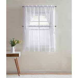Shubhika Lace Kitchen Curtain