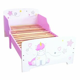 Unicorn 70 X 140cm Covertible Toddler Bed By Zoomie Kids