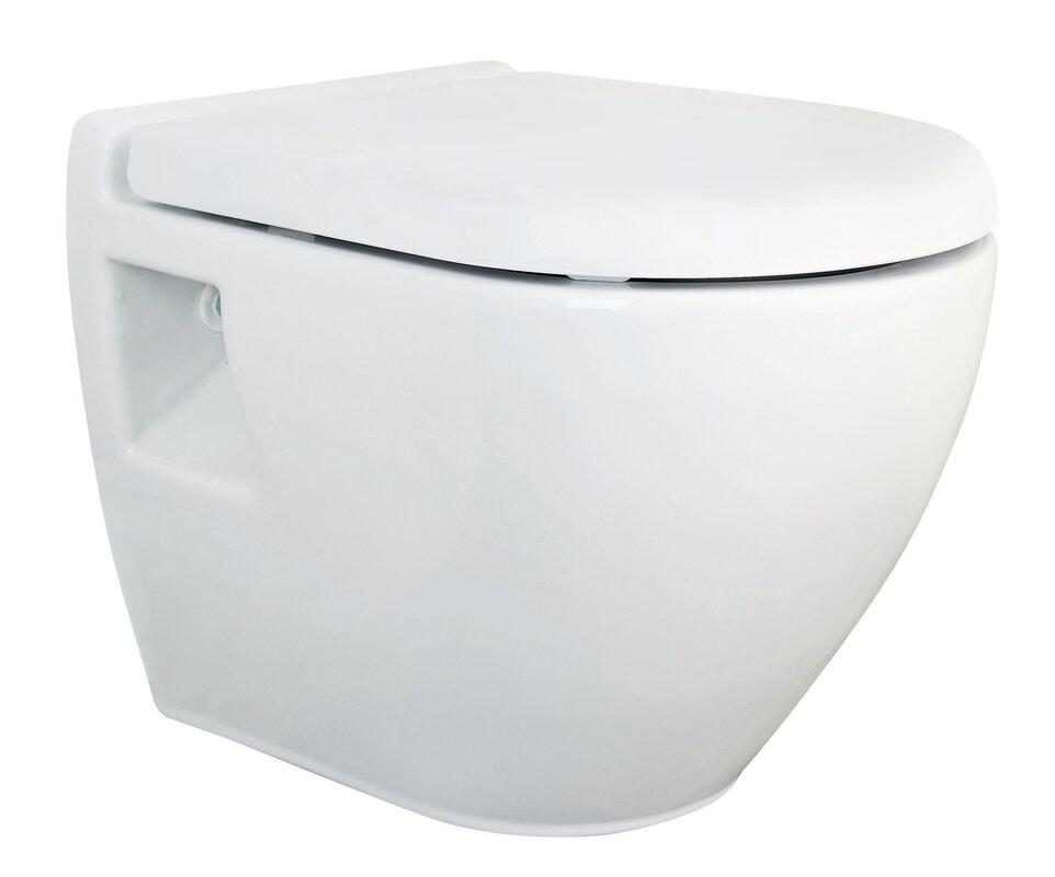 Premier D Shape Elongated Toilet Seat Reviews Wayfaircouk