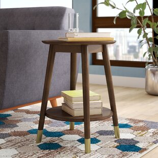 Inexpensive Boese End Table ByWrought Studio