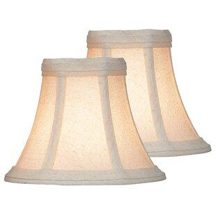 6 Fabric Bell Lamp Shade (Set of 2)