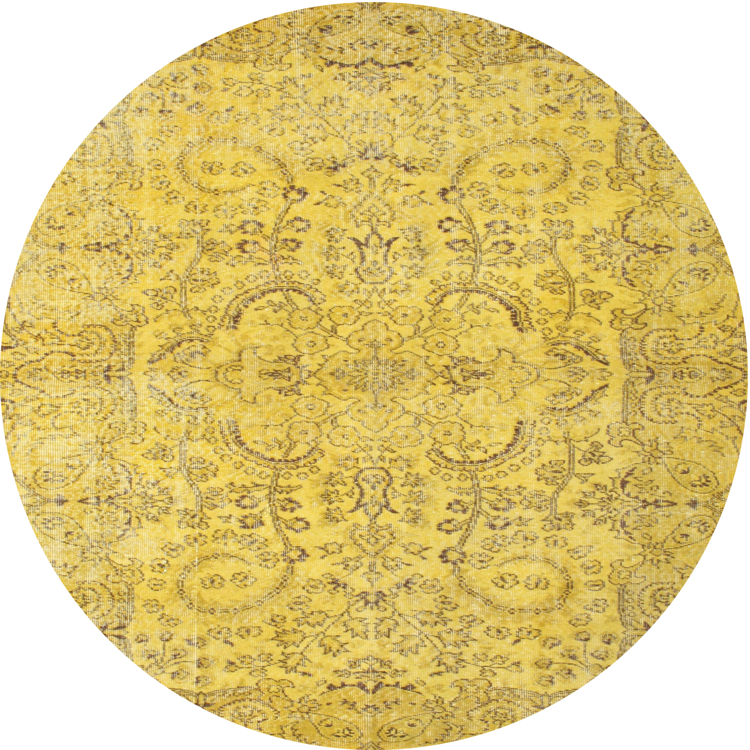 Picture of: East Urban Home Contemporary Yellow Area Rug Wayfair