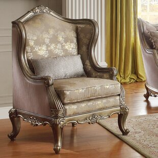 Rosdorf Park Lauver Wing Back Arm Chair