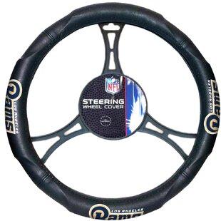 Northwest Co. NFL Rams Car Steering Wheel Cover
