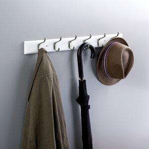 Rail Wall Mounted Coat Rack