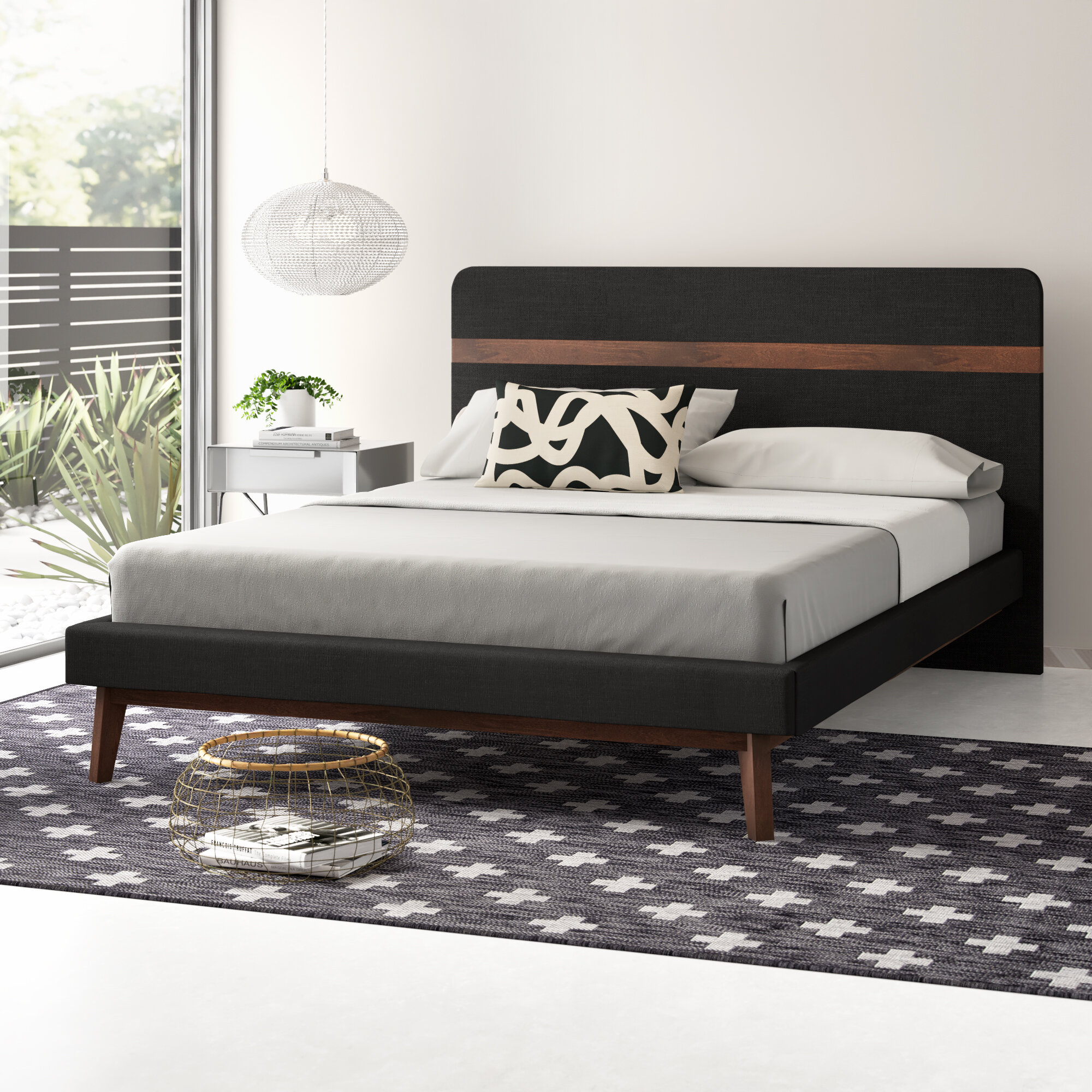 Alan Upholstered Platform Bed