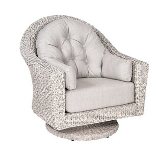 Isabella Swivel Lounge Chair With Cushions by Woodard