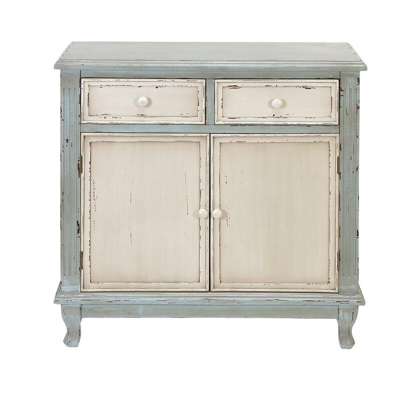Lark Manor Prades 2 Drawer and 2 Door Accent Cabinet & Reviews ...