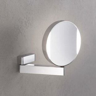 WS Bath Collections Imago LED Hard Wired Reversible Magnifying Mirror