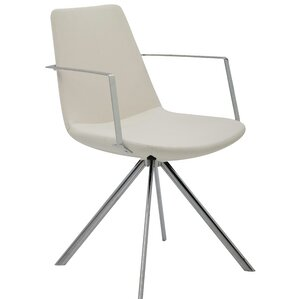 Pera Elips Eco Leather Arm Chair by B&T Design