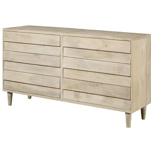 Perley Reclaimed Look 6 Drawer Double Dresser