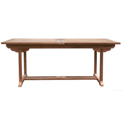 Quinlan Extendable Solid Wood Dining Table by Darby Home Co Bargain