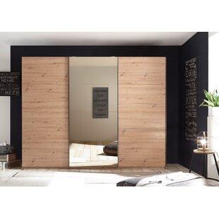 Sheila 3 Door Wardrobe By Ebern Designs