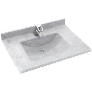 Contour 25 Single Bathroom Vanity Top By Swan Surfaces