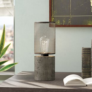 Careen Thick Concrete 15 Table Lamp