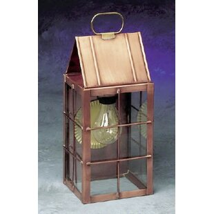 300 Series 1-Light Outdoor Wall Lantern by Brass Traditions