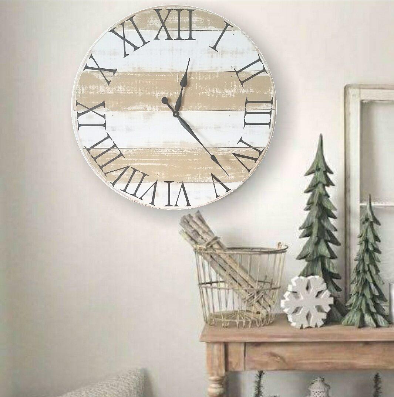 Rosecliff Heights Oversized Zelda Wall Clock Wayfair