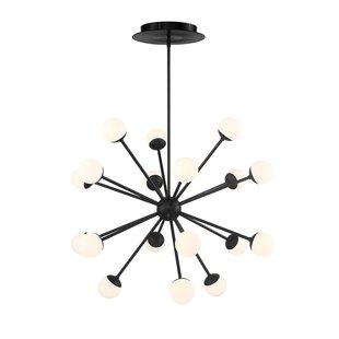 George Oliver Pellston 18-Light LED Sputnik Chandelier