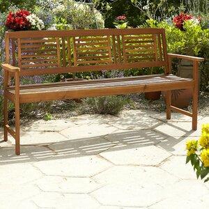 3-Sitzer Gartenbank aus Holz von Bel Étage