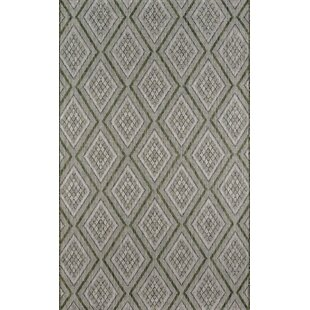 Madcap Cottage by Momeni Lake Palace Rajastan Weekend Green Indoor/Outdoor Area Rug 2' X 3
