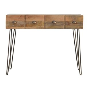 Nailsea Solid Wood Console Table By World Menagerie