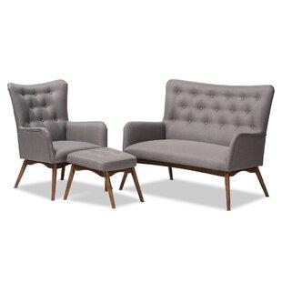 Centreville 3 Piece Living Room Set by George Oliver