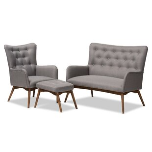 Find for Centreville 3 Piece Living Room Set by George Oliver Reviews (2019) & Buyer's Guide